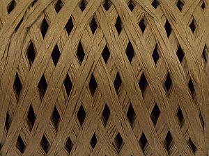 Fiber Content 100% Viscose, Milky Brown, Brand Ice Yarns, fnt2-70602