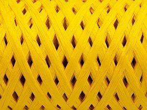 Fiber Content 100% Viscose, Yellow, Brand Ice Yarns, fnt2-70611