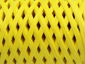 Fiber Content 100% Viscose, Neon Yellow, Brand Ice Yarns, fnt2-70612