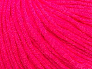 Fiber Content 50% Cotton, 50% Acrylic, Brand Ice Yarns, Fuchsia, fnt2-70657