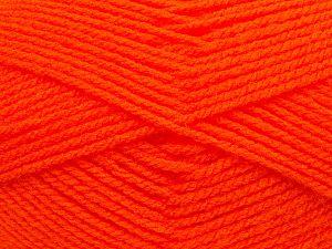 Worsted Fiber Content 100% Acrylic, Orange, Brand Ice Yarns, fnt2-70661