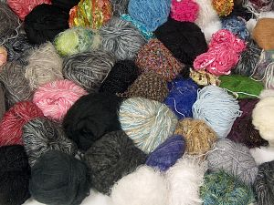 Leftover Yarns In this list; you see most recent 50 mixed lots. <br> To see all <a href=&/mixed_lots/o/4#list&>CLICK HERE</a> (Old ones have much better deals)<hr> Brand Ice Yarns, fnt2-70679