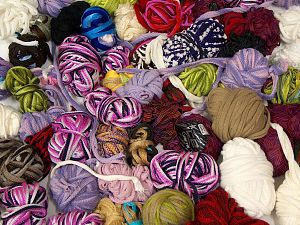 Leftover Yarns In this list; you see most recent 50 mixed lots. <br> To see all <a href=&/mixed_lots/o/4#list&>CLICK HERE</a> (Old ones have much better deals)<hr> Brand Ice Yarns, fnt2-70690