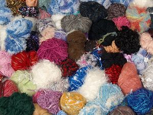 Leftover Yarns In this list; you see most recent 50 mixed lots. <br> To see all <a href=&/mixed_lots/o/4#list&>CLICK HERE</a> (Old ones have much better deals)<hr> Brand Ice Yarns, fnt2-70691