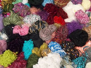 Leftover Yarns In this list; you see most recent 50 mixed lots. <br> To see all <a href=&/mixed_lots/o/4#list&>CLICK HERE</a> (Old ones have much better deals)<hr> Brand Ice Yarns, fnt2-70699