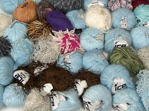 Leftover Yarns In this list; you see most recent 50 mixed lots. <br> To see all <a href=&/mixed_lots/o/4#list&>CLICK HERE</a> (Old ones have much better deals)<hr> Brand Ice Yarns, fnt2-70704