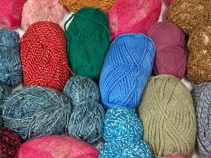 Leftover Yarns In this list; you see most recent 50 mixed lots. <br> To see all <a href=&/mixed_lots/o/4#list&>CLICK HERE</a> (Old ones have much better deals)<hr> Brand Ice Yarns, fnt2-70714