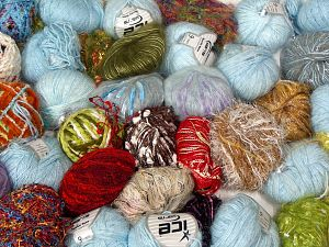 Leftover Yarns In this list; you see most recent 50 mixed lots. <br> To see all <a href=&/mixed_lots/o/4#list&>CLICK HERE</a> (Old ones have much better deals)<hr> Brand Ice Yarns, fnt2-70725