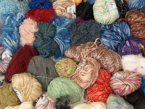 Leftover Yarns In this list; you see most recent 50 mixed lots. <br> To see all <a href=&/mixed_lots/o/4#list&>CLICK HERE</a> (Old ones have much better deals)<hr> Brand Ice Yarns, fnt2-70727