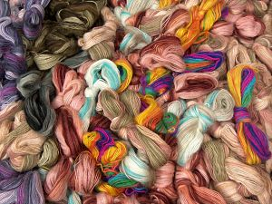 Angora Active Leftover Yarns In this list; you see most recent 50 mixed lots. <br> To see all <a href=&/mixed_lots/o/4#list&>CLICK HERE</a> (Old ones have much better deals)<hr> Fiber Content 75% Acrylic, 25% Angora, Brand Ice Yarns, fnt2-70732