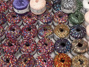 Fancy Yarns Because of the nature of fancy yarns, yardage of skeins may be different from one to another. The total net weight of the lot which is 2000 grams may differ around +-5%. In this list; you see most recent 50 mixed lots. <br> To see all <a href=&/mixed_lots/o/4#list&>CLICK HERE</a> (Old ones have much better deals)<hr> Brand Ice Yarns, fnt2-70758
