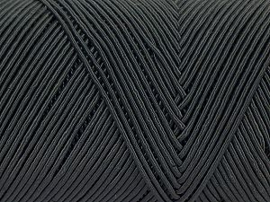 Fiber Content 70% Polyester, 30% Cotton, Brand Ice Yarns, Anthracite Black, fnt2-70760