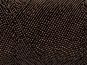 Fiber Content 70% Polyester, 30% Cotton, Brand Ice Yarns, Brown, fnt2-70766
