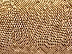 Fiber Content 70% Polyester, 30% Cotton, Brand Ice Yarns, Dark Cream, fnt2-70768