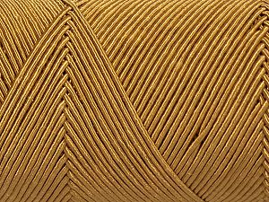 Fiber Content 70% Polyester, 30% Cotton, Brand Ice Yarns, Gold, fnt2-70769