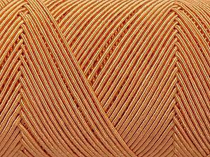 Fiber Content 70% Polyester, 30% Cotton, Light Orange, Brand Ice Yarns, fnt2-70771