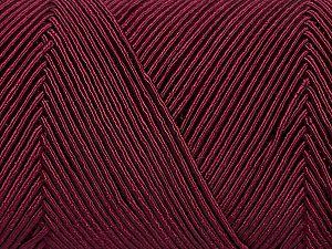 Fiber Content 70% Polyester, 30% Cotton, Brand Ice Yarns, Burgundy, fnt2-70772
