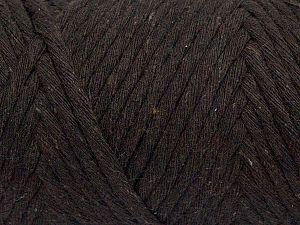 Fiber Content 100% Cotton, Brand Ice Yarns, Dark Brown, fnt2-70783