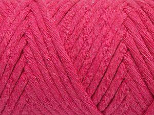 Fiber Content 100% Cotton, Brand Ice Yarns, Fuchsia, fnt2-70790