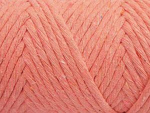 Fiber Content 100% Cotton, Salmon, Brand Ice Yarns, fnt2-70791
