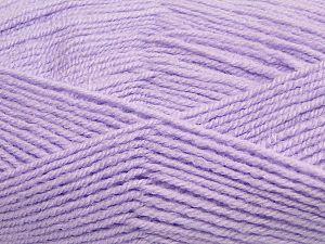 Vezelgehalte 50% Acryl, 50% Polyamide, Light Lilac, Brand Ice Yarns, fnt2-70793