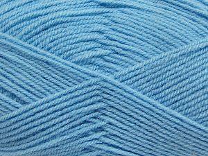 Vezelgehalte 50% Acryl, 50% Polyamide, Light Blue, Brand Ice Yarns, fnt2-70794