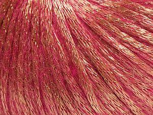 Fiber Content 70% Polyamide, 19% Merino Wool, 11% Acrylic, Light Brown, Brand Ice Yarns, Candy Pink, fnt2-70817
