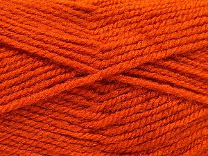 Fiber Content 50% Wool, 50% Acrylic, Orange, Brand Ice Yarns, fnt2-70828