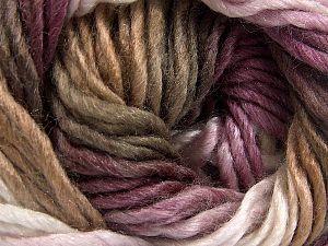 Fiber Content 50% Acrylic, 50% Wool, White, Maroon Shades, Brand Ice Yarns, Camel, fnt2-70830