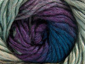 Fiber Content 50% Acrylic, 50% Wool, Turquoise, Purple, Brand Ice Yarns, Camel, fnt2-70831