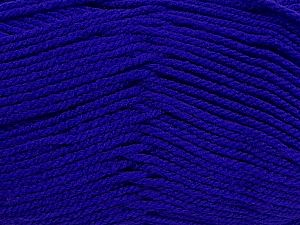 Worsted Fiber Content 100% Acrylic, Purple, Brand Ice Yarns, fnt2-70845