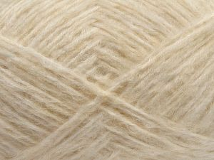 Fiber Content 50% Wool, 25% Acrylic, 25% Polyamide, Brand Ice Yarns, Cream, fnt2-70875