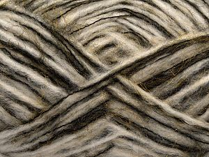 Fiber Content 40% Polyester, 30% Nylon, 18% Wool, 12% Acrylic, White, Brand Ice Yarns, Gold, Black, fnt2-70886