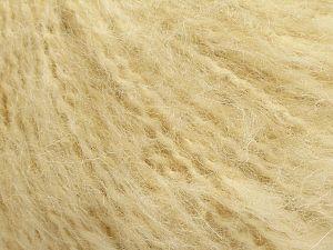 Fiber Content 40% Wool, 40% Acrylic, 20% Nylon, Brand Ice Yarns, Dark Cream, fnt2-70913