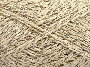 Fiber Content 100% Cotton, Light Grey, Light Cream, Brand Ice Yarns, fnt2-70918