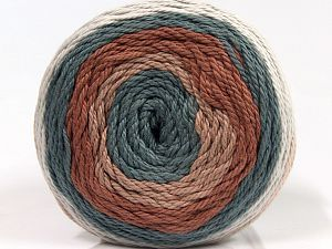 Fiber Content 100% Cotton, Light Grey, Indigo Blue, Brand Ice Yarns, Brown Shades, fnt2-70926