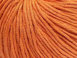 Fiber Content 50% Acrylic, 50% Cotton, Light Orange, Brand Ice Yarns, fnt2-70956