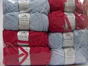 Ribbon Yarns In this list; you see most recent 50 mixed lots. <br> To see all <a href=&/mixed_lots/o/4#list&>CLICK HERE</a> (Old ones have much better deals)<hr> Fiber Content 60% Acrylic, 40% Nylon, Brand Ice Yarns, fnt2-70985