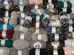 Fancy Yarns In this list; you see most recent 50 mixed lots. <br> To see all <a href=&/mixed_lots/o/4#list&>CLICK HERE</a> (Old ones have much better deals)<hr> Brand Ice Yarns, fnt2-71000