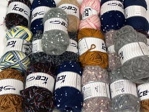 Fancy Yarns In this list; you see most recent 50 mixed lots. <br> To see all <a href=&/mixed_lots/o/4#list&>CLICK HERE</a> (Old ones have much better deals)<hr> Brand Ice Yarns, fnt2-71002