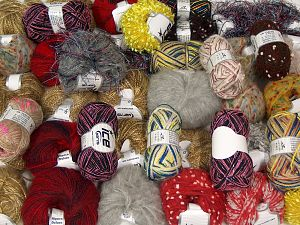 Fancy Yarns In this list; you see most recent 50 mixed lots. <br> To see all <a href=&/mixed_lots/o/4#list&>CLICK HERE</a> (Old ones have much better deals)<hr> Brand Ice Yarns, fnt2-71004