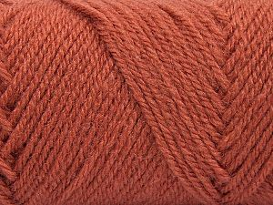 Items made with this yarn are machine washable & dryable. Fiber Content 100% Acrylic, Brand Ice Yarns, Dark Salmon, fnt2-71051