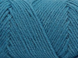 Items made with this yarn are machine washable & dryable. Fiber Content 100% Acrylic, Jeans Blue, Brand Ice Yarns, fnt2-71054