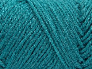 Items made with this yarn are machine washable & dryable. Fiber Content 100% Acrylic, Turquoise, Brand Ice Yarns, fnt2-71055