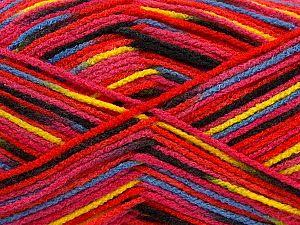 Fiber Content 100% Acrylic, Yellow, Red, Lilac, Brand Ice Yarns, Fuchsia, fnt2-71065