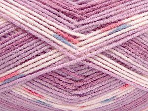 Fiber Content 100% Acrylic, Lilac Shades, Brand Ice Yarns, fnt2-71073