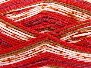 Fiber Content 100% Acrylic, Red Shades, Brand Ice Yarns, fnt2-71074