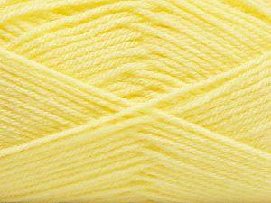 Fiber Content 100% Acrylic, Light Yellow, Brand Ice Yarns, fnt2-71076