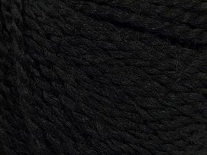Fiber Content 80% Acrylic, 20% Polyamide, Brand Ice Yarns, Black, fnt2-71078