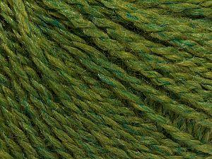 Fiber Content 80% Acrylic, 20% Polyamide, Jungle Green, Brand Ice Yarns, fnt2-71088
